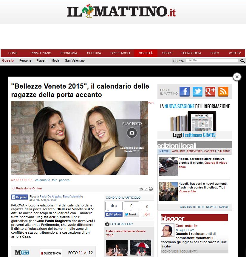BV15  - Il Mattino di Napoli
